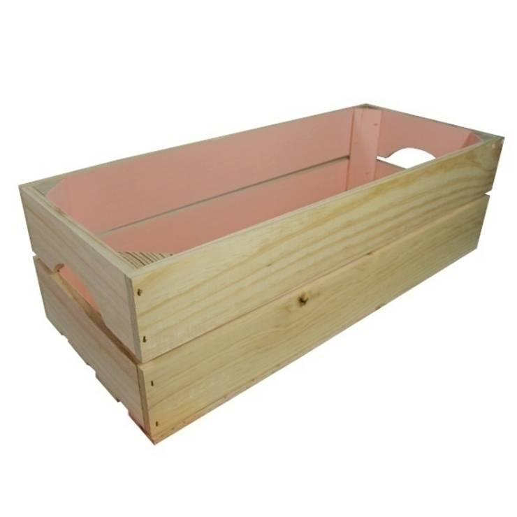Caja rectangular rosa: Jardín de estilo  de Chicplace