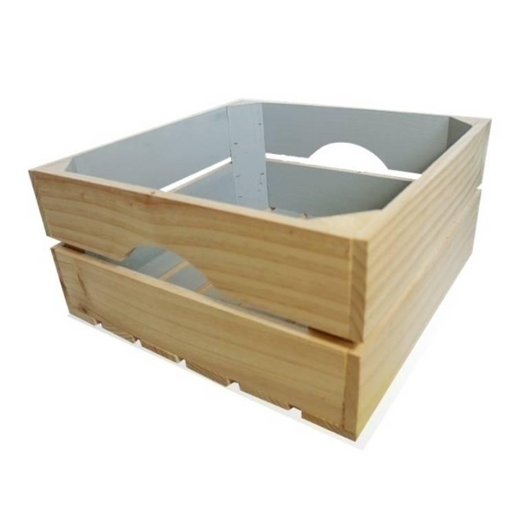 Caja cuadrada azul nordico: Hogar de estilo  de Chicplace