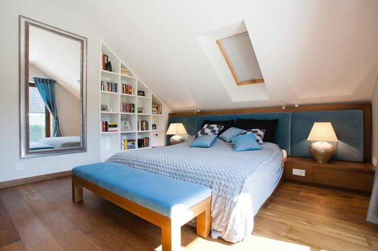 Dom w Krakowie : styl , w kategorii Sypialnia zaprojektowany przez ARCHISSIMA