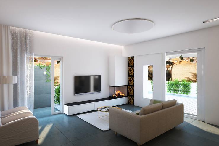 Wohnzimmer von ECOForma