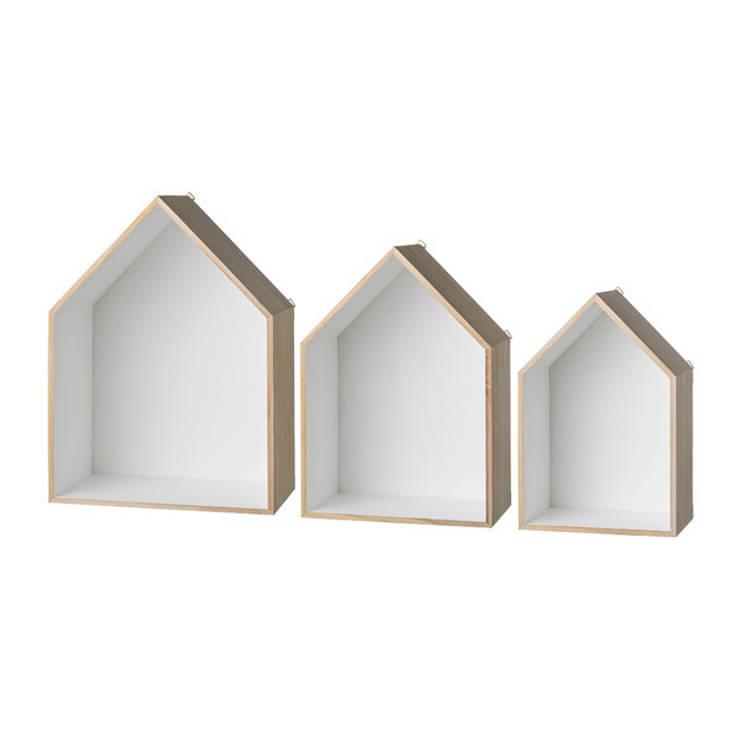Set de 3 estanterías house : Hogar de estilo  de Chicplace