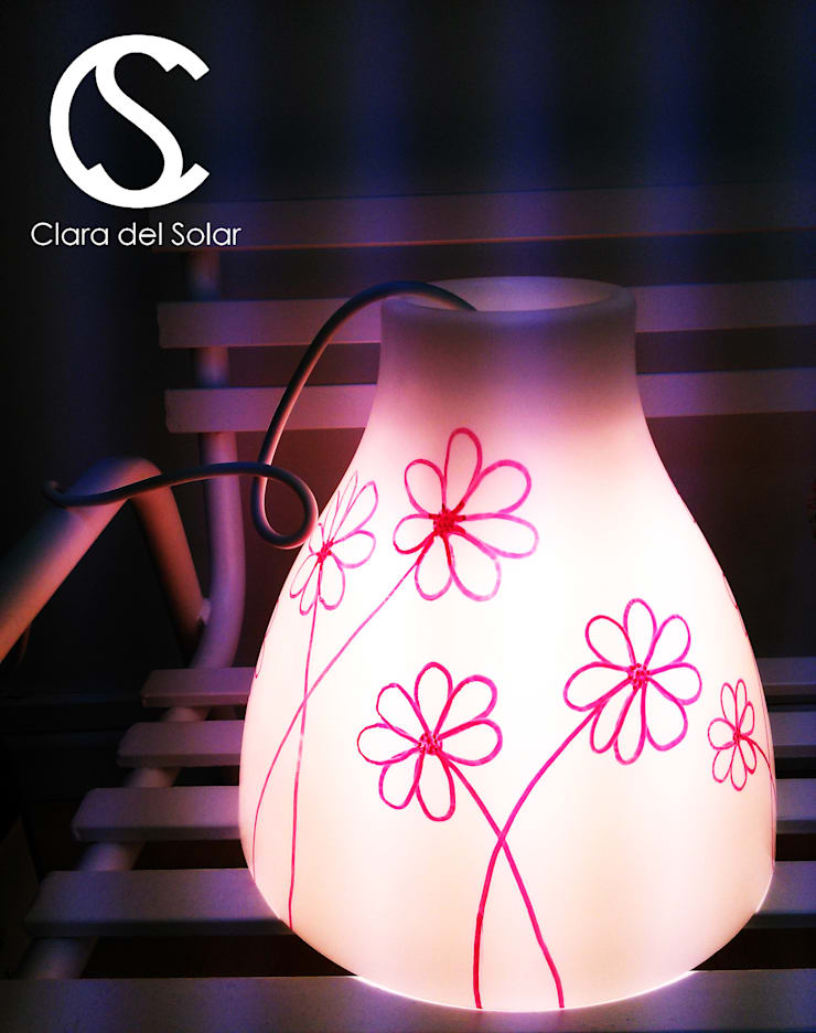 LAMP: Habitaciones infantiles de estilo  de Clara del Solar