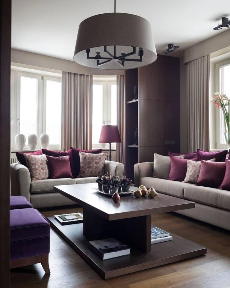 Квартира в Химках: Гостиная в . Автор – Дизайн бюро Татьяны Алениной