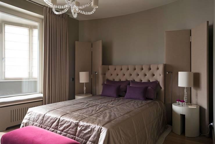 Квартира в Химках: Спальни в . Автор – Дизайн бюро Татьяны Алениной