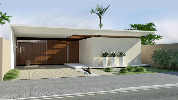 Redidência NV+: Casas  por Quattro+ Arquitetura