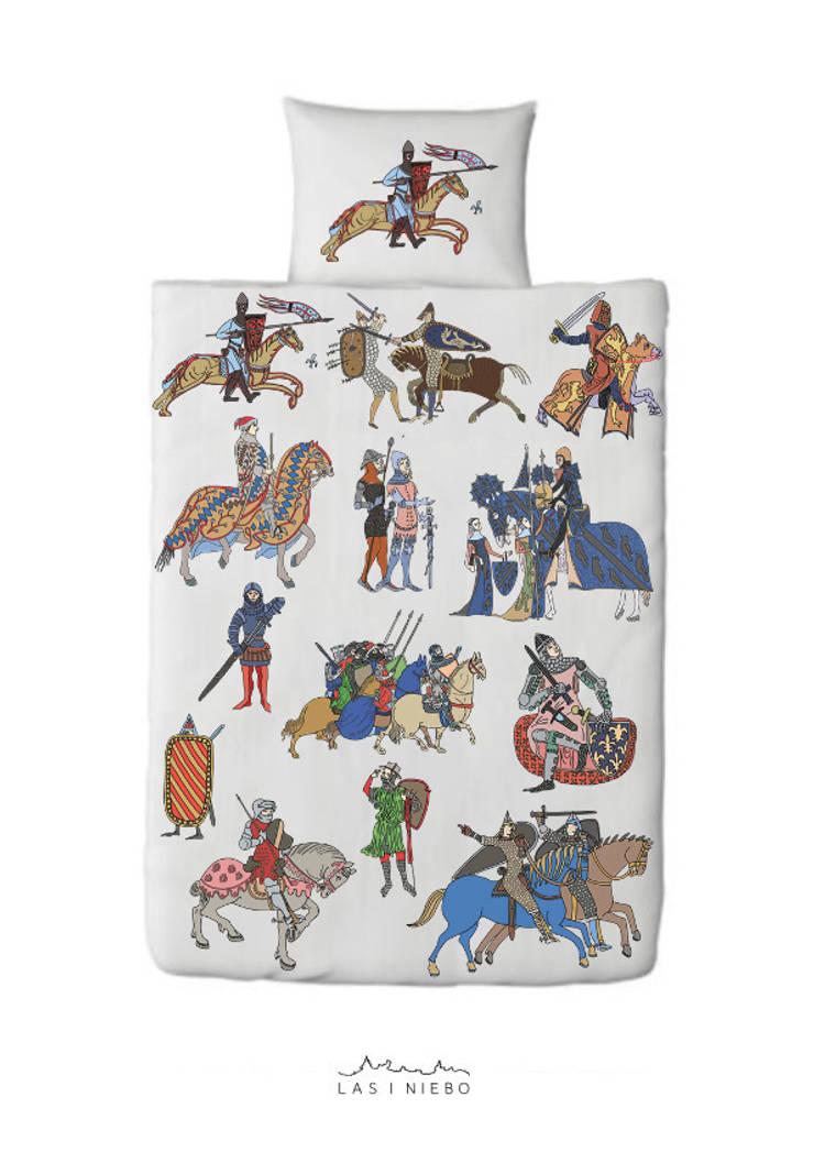 Pościel Rycerze średniowieczni: styl , w kategorii Sypialnia zaprojektowany przez Las i niebo