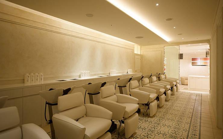 Shampoo area: WORKTECHT CORPORATIONが手掛けた商業空間です。