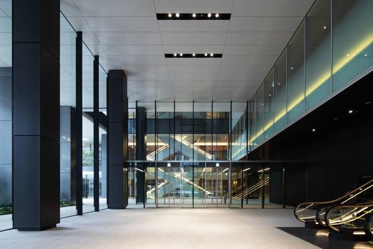 Elevator Hall: WORKTECHT CORPORATIONが手掛けたオフィススペース&店です。,