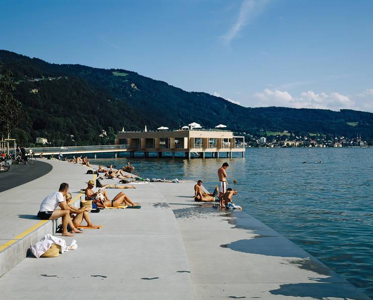 Badehaus am Kaiserstrand, Lochau-Bregenz:  Hotels von Lang + Schwärzler Architekturbüro
