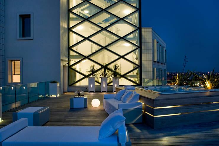 Terrasse de style  par Studio Architettura Carlo Ceresoli