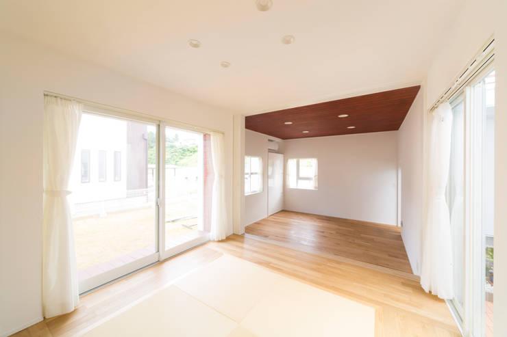蔵波・HOUSE・T(KURANAMI・HOUSE・T): 吉田裕一建築設計事務所が手掛けた和室です。