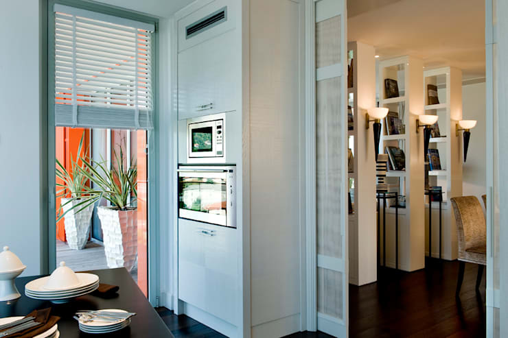 Dettaglio cucina: Cucina in stile  di Studio Architettura Carlo Ceresoli