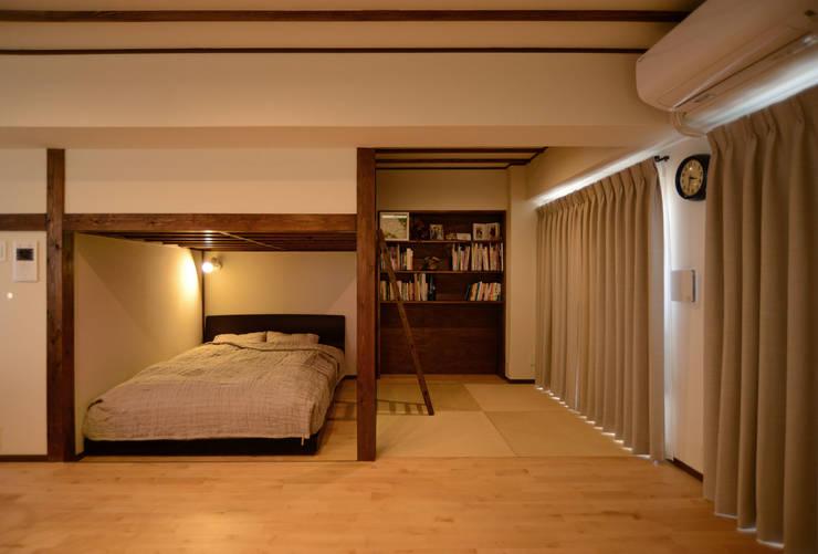 臥室 by 吉田裕一建築設計事務所
