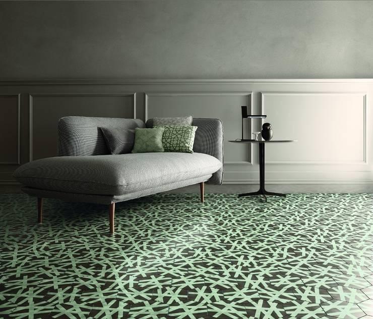 Living room by Badkamer & Tegels magazine
