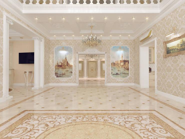 Особняк город Тобольск.: Столовые комнаты в . Автор – Tutto design