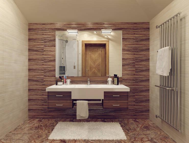 Tutto design의  욕실