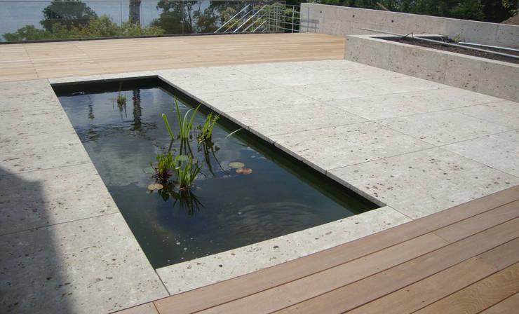 Jardines de estilo  por Susan Rüschoff Architekten Architektur&Interior Design