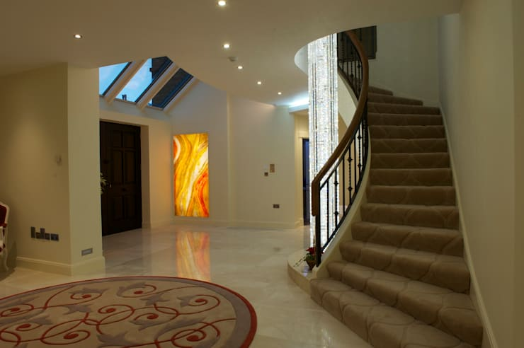 Formby Hallway Panels:  Corridor, hallway & stairs by The House of Ugly Fish