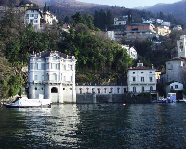 Villa Taglioni - Blevio Lago di Como Case classiche di Archiluc's - Studio di Architettura Stefano Lucini Architetto Classico