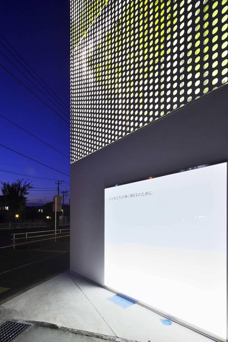 平塚の事務所ビル: 株式会社森山博之設計事務所  hmaa Inc,が手掛けたオフィスビルです。