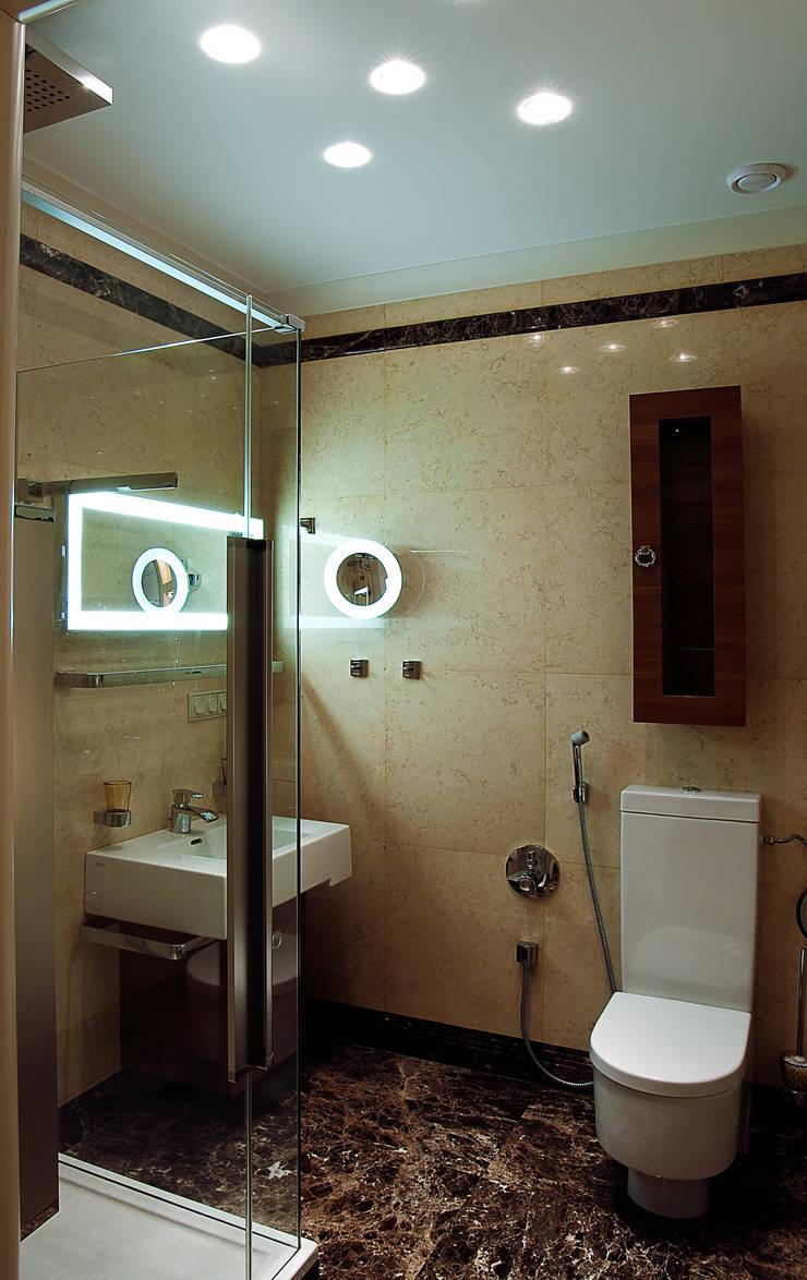 Гостевой  туалет.: Ванные комнаты в . Автор – KRAUKLIT VALERII