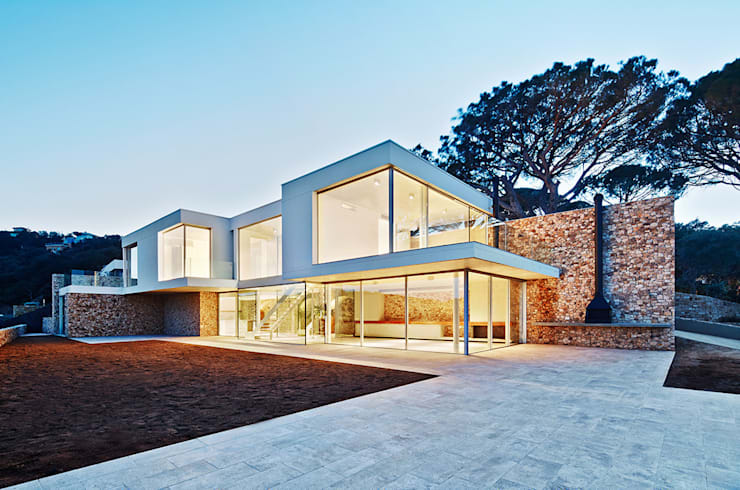 Casas de estilo mediterraneo por Pepe Gascón arquitectura