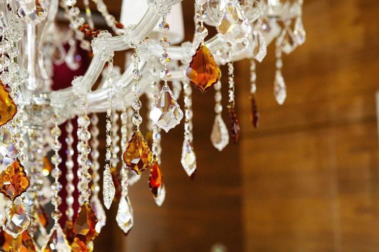 Detalles Lámpara de cristal: Comedor de estilo  de Bimaxlight