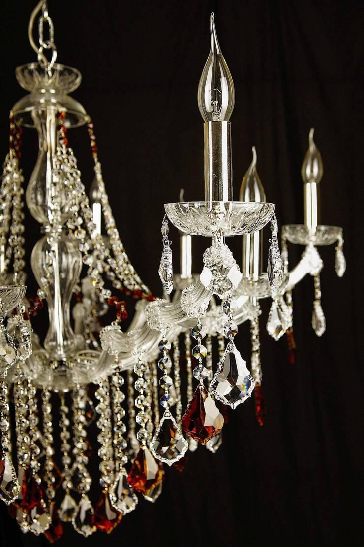 Detalles Lámpara de Crristal: Comedor de estilo  de Bimaxlight