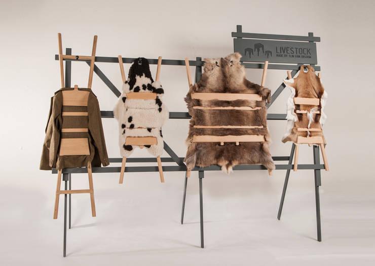 Livestock collection :  Woonkamer door Product Design - Tijn van Orsouw