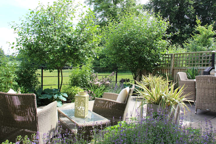 A year after planting:   by Dawn Garden Design