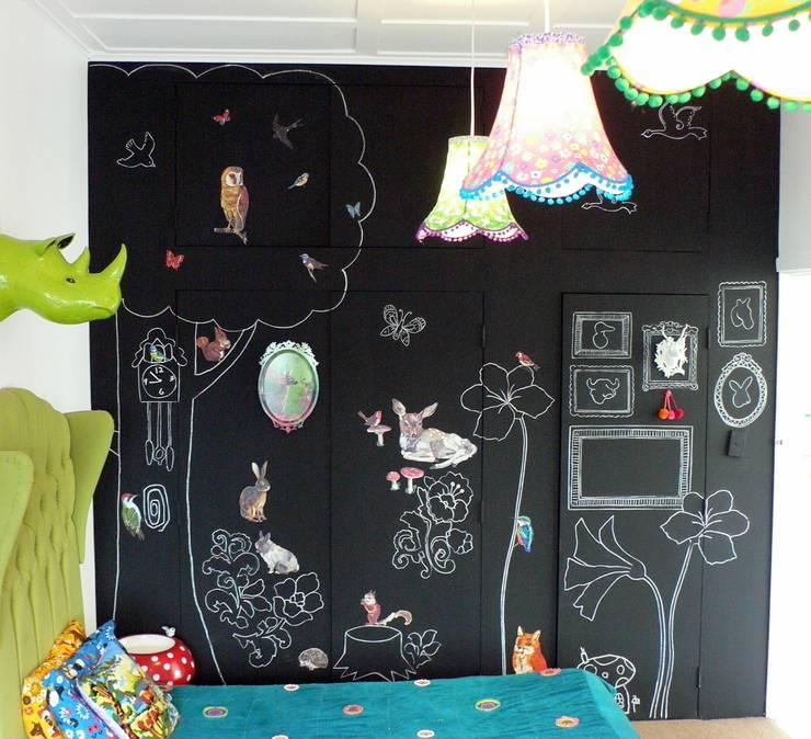 Camerette per bambini : Camera da letto in stile  di Federica Rossi Interior Designer