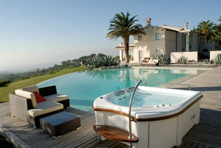Whirlpools für Luxusimmobilien:  Whirlpool von Hesselbach GmbH