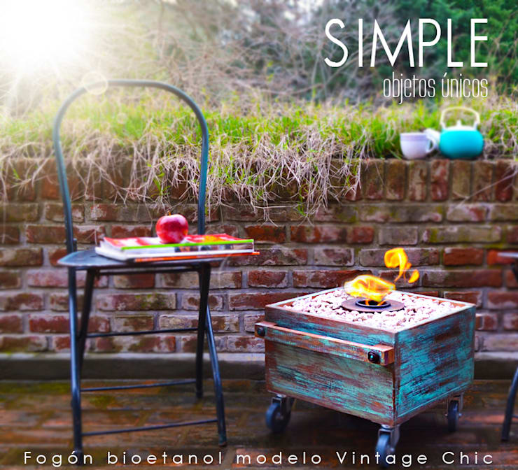 Simple Objetos Unicos의  정원