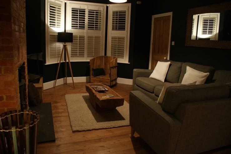 Projekty,  Salon zaprojektowane przez BluBambu Living