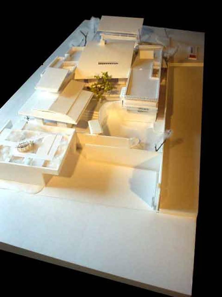 丘水庵  模型: 片倉隆幸建築研究室が手掛けたアートです。