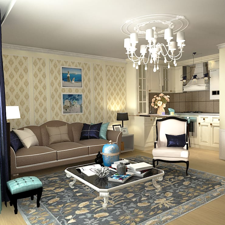 Living room by AnARCHI,