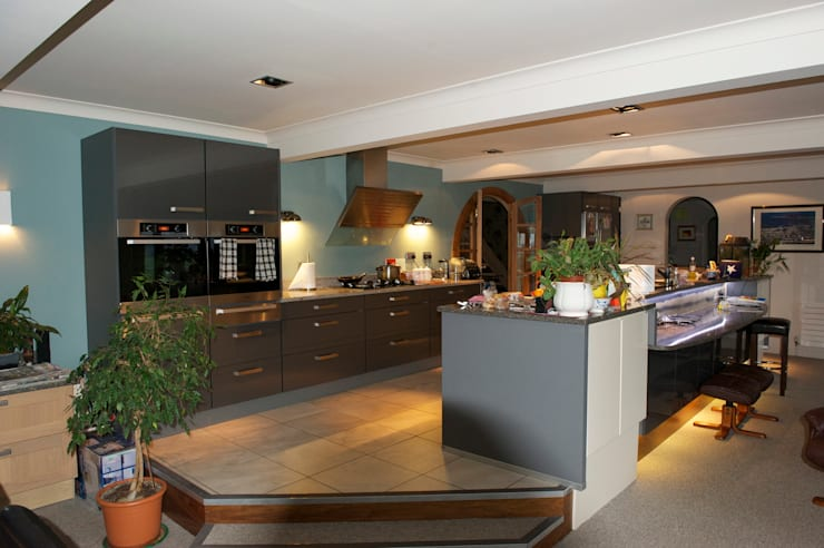 BRIDGE OF ALLAN PROJECT - BEFORE:  Kitchen by The House of Ugly Fish