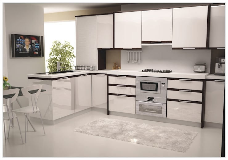 modern Kitchen تنفيذ Eşittir Mobilya
