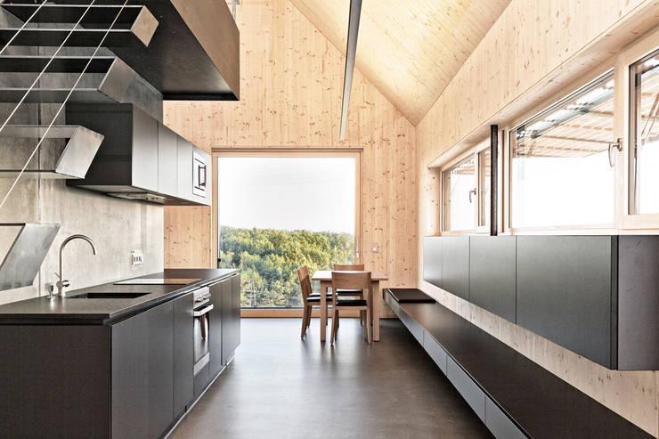 modern Dining room by 24gramm Architektur