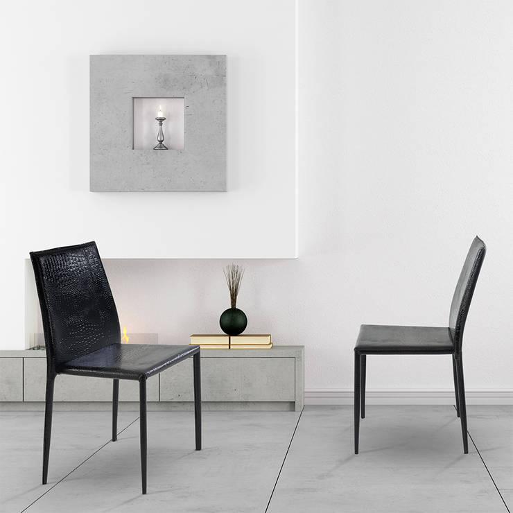 Cadeira Amanda Crocco: Casa  por Rivatti Móveis