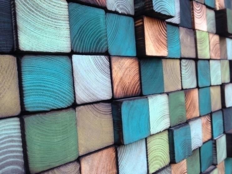 Ozdoby ścienne: styl , w kategorii Ściany i podłogi zaprojektowany przez DrewnianaŚciana