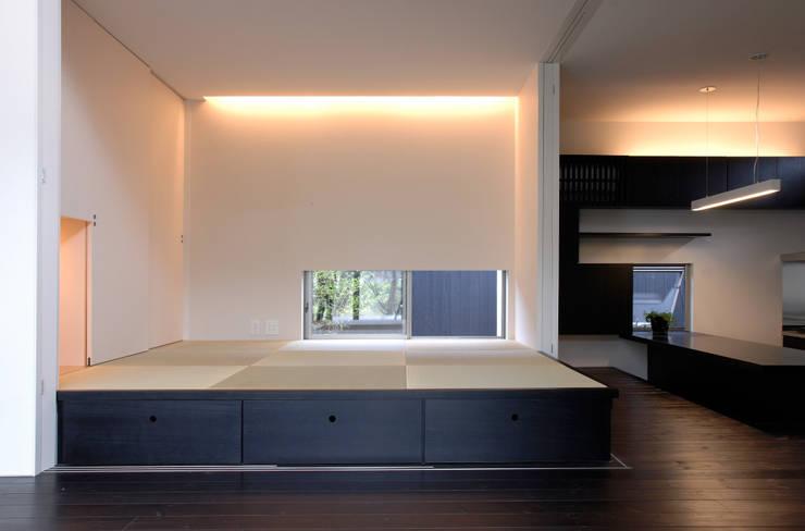 BOO-HOUSE(本郷の家): 株式会社ギミックが手掛けた和室です。
