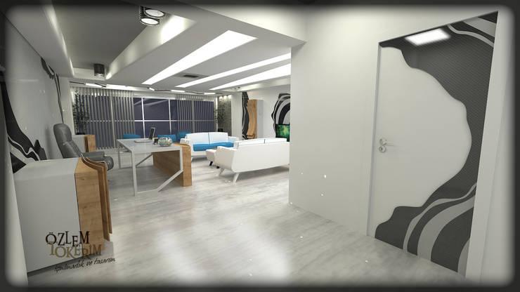 özlem tokerim iç mimarlık ve tasarım – modern ofis tasarımı : modern tarz , Modern