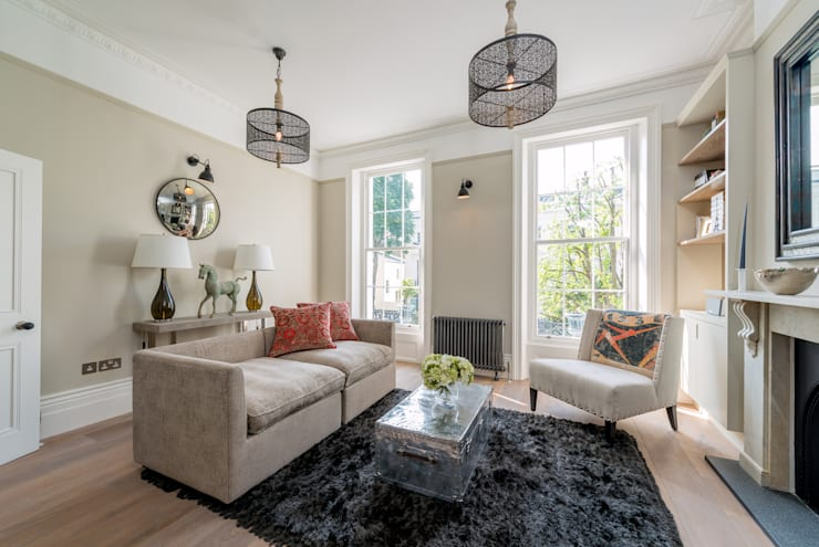 Chepstow Road:  Living room by Will Eckersley