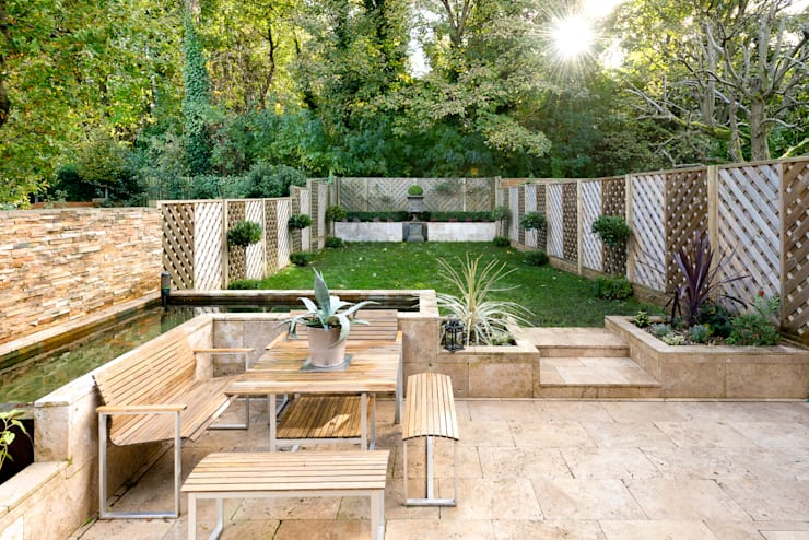 modern Garden by Will Eckersley