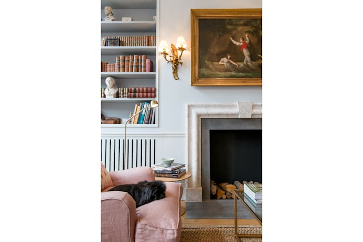 Cheyne Gardens:  Living room by Will Eckersley