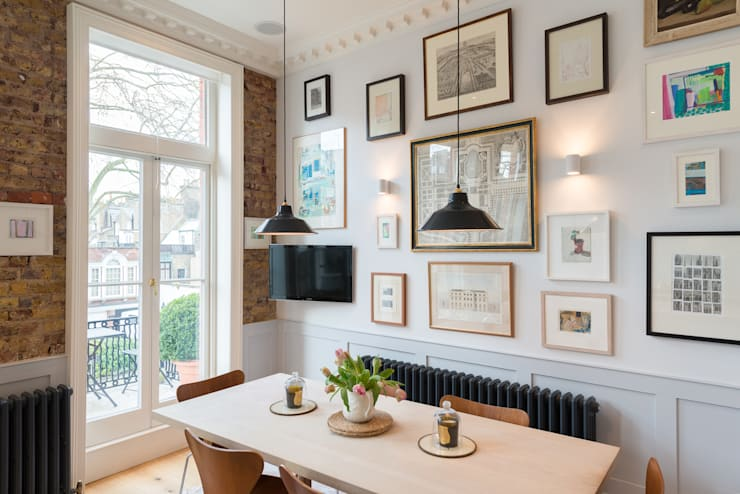 Cheyne Gardens:  Kitchen by Will Eckersley