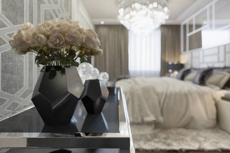 Bedroom by EVGENY BELYAEV DESIGN, Eclectic
