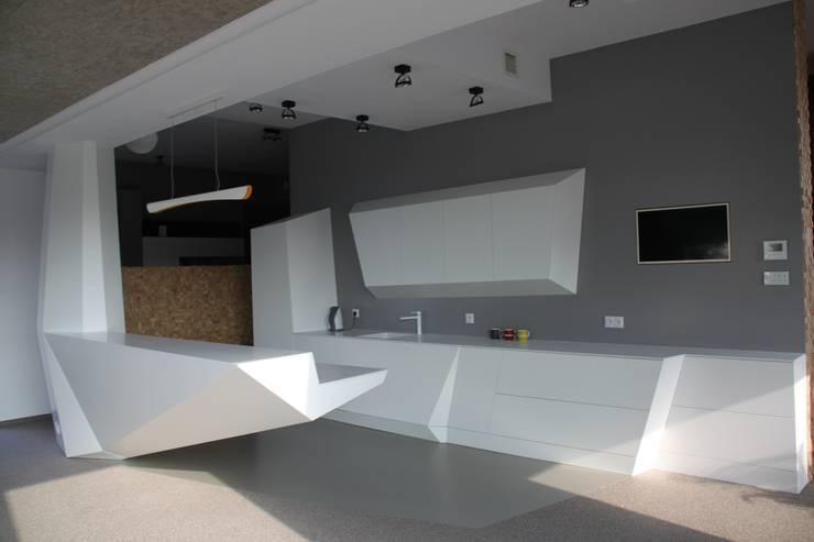 Dom ZESTAWNA : styl , w kategorii Kuchnia zaprojektowany przez REFORM Konrad Grodziński