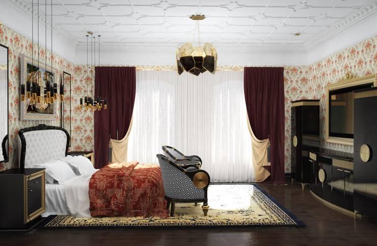 Настасья Евглевская:  tarz Yatak Odası